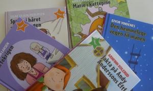 Tidlegare utgjevingar av nynorske lettlesbøker