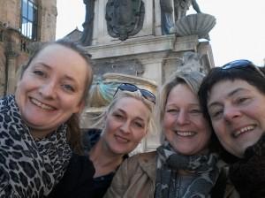 Camilla Kuhn, , Jill Moursund, Elisabeth Moseng og Hilde Hodnefjeld.