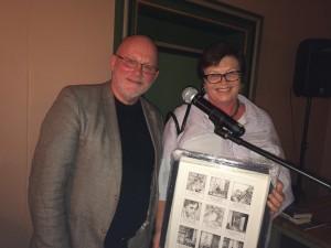 Dag Larsen og Kristin Ørjasæter