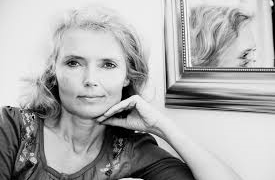 Å reklamere for eigne bøker: Mari Kjetun